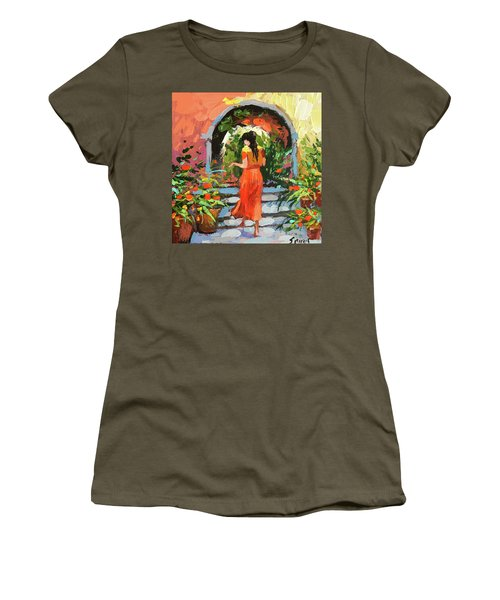 At The Hcienda  Women's T-Shirt (Athletic Fit)