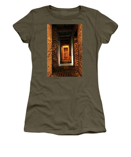 Women's T-Shirt (Junior Cut) featuring the photograph Atalaya by Jessica Brawley