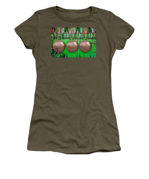 Women's T-Shirt (Junior Cut) featuring the photograph Atlas Imperial by Paul Wear