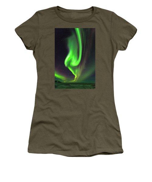 Aurora Burst Women's T-Shirt (Athletic Fit)