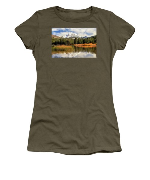 Women's T-Shirt (Junior Cut) featuring the photograph Autumn At Mount Lassen by James Eddy