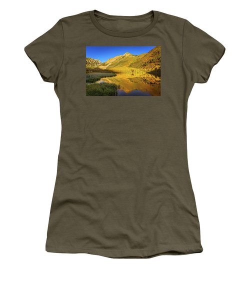 Autumn At North Lake Women's T-Shirt