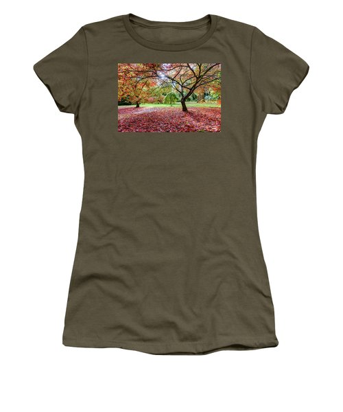 Autumn At Westonbirt Arboretum Women's T-Shirt