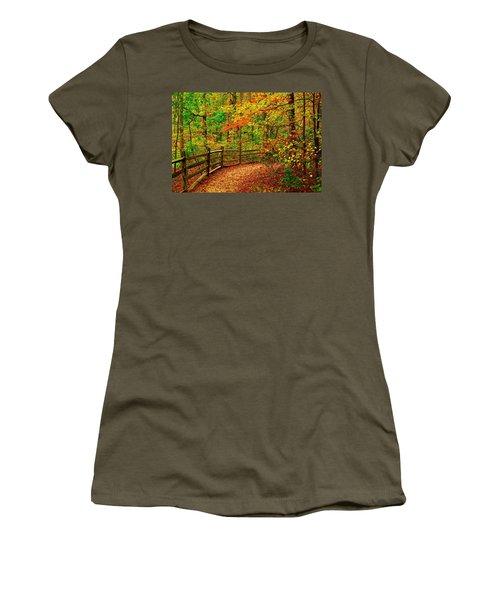 Autumn Bend - Allaire State Park Women's T-Shirt