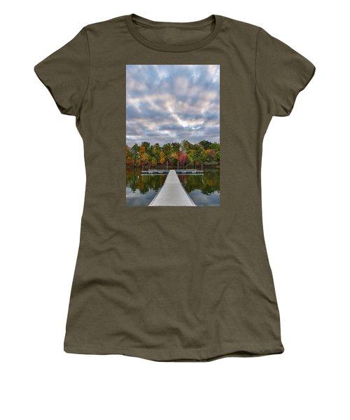 Autumn Colors At The Lake Women's T-Shirt