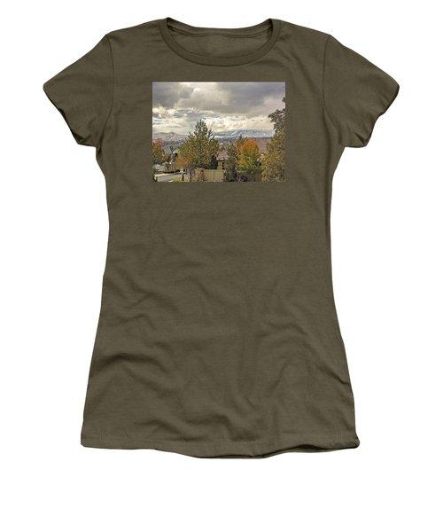 Autumn Covers Winter Women's T-Shirt