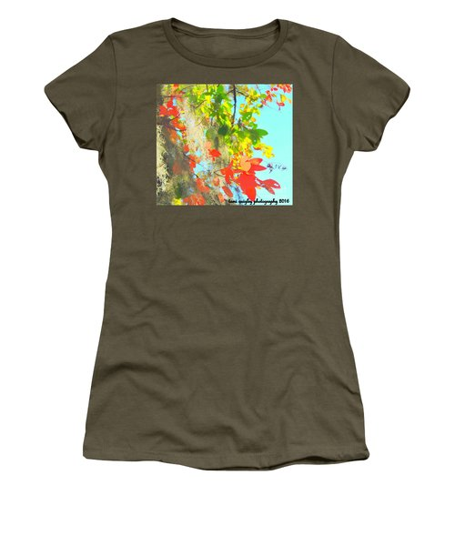 Autumn In Dixie  Women's T-Shirt (Athletic Fit)