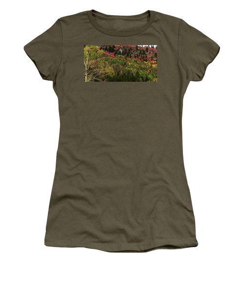 Autumn In Idaho Women's T-Shirt (Junior Cut) by Yeates Photography
