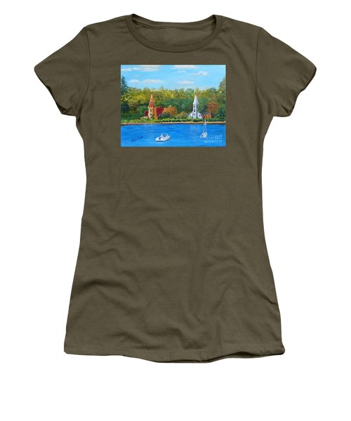 Autumn In Nova Scotia Women's T-Shirt
