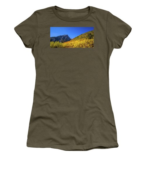 Autumn In The Rockies Women's T-Shirt (Athletic Fit)
