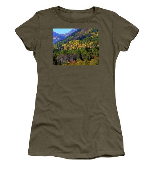 Autumn In Utah Women's T-Shirt