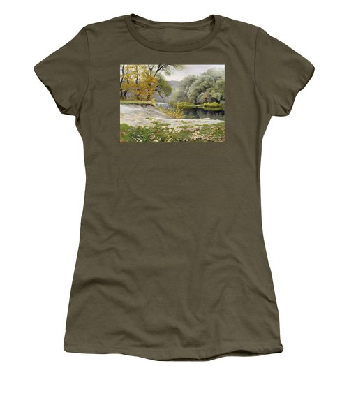 Autumn Landscape In The Vicinity Of Eshar Women's T-Shirt