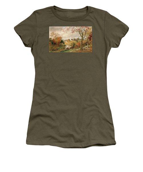 Autumn Landscape Women's T-Shirt