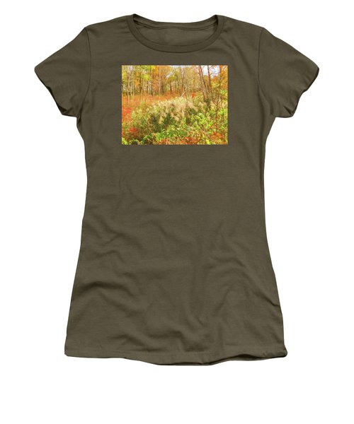 Autumn Landscape Women's T-Shirt (Athletic Fit)
