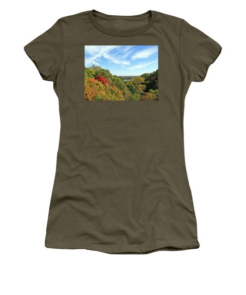 Autumn Lookout Women's T-Shirt (Athletic Fit)