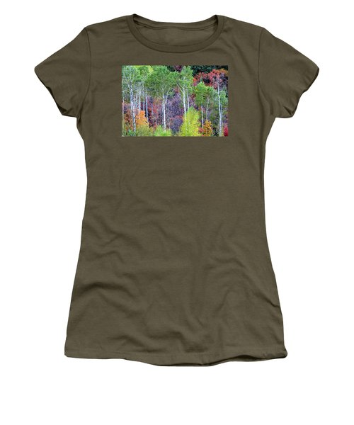 Autumn Mix Women's T-Shirt