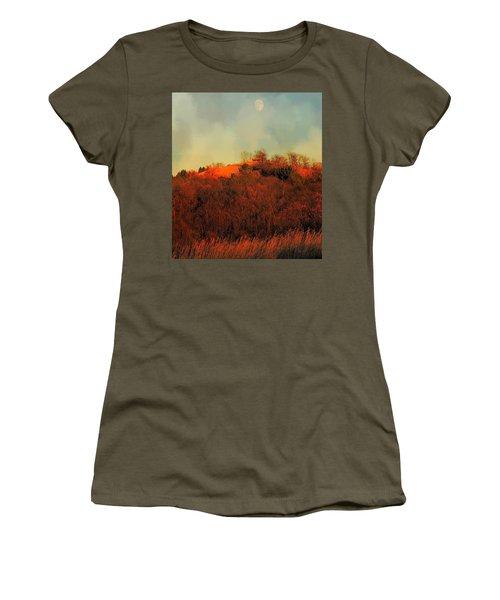 Autumn Moonrise Women's T-Shirt (Athletic Fit)