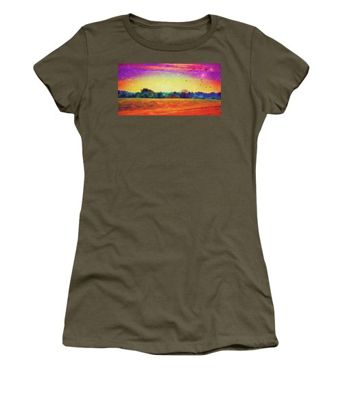 Autumn On Earth Two Women's T-Shirt