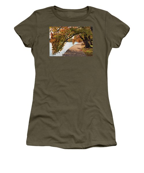 Autumn On The Tidal Basin Women's T-Shirt (Athletic Fit)