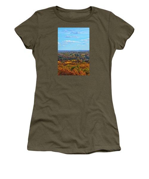 Autumn Overlook Women's T-Shirt (Junior Cut) by Nikki McInnes