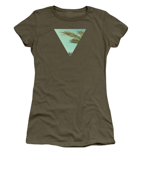 Autumn Palms II Women's T-Shirt