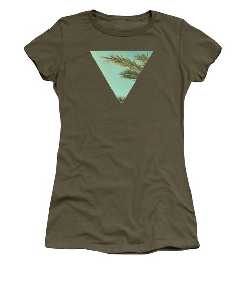Autumn Palms II Women's T-Shirt