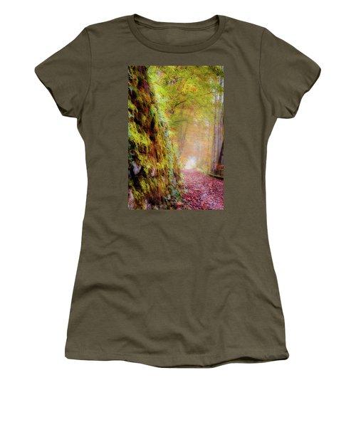 Autumn Path Women's T-Shirt