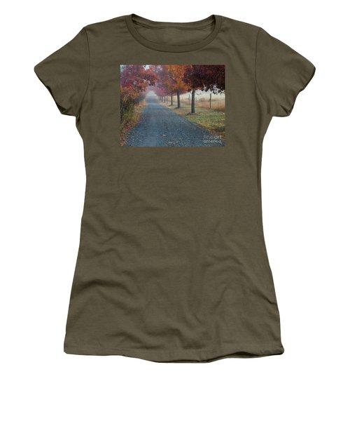 Autumn Portal Women's T-Shirt (Athletic Fit)