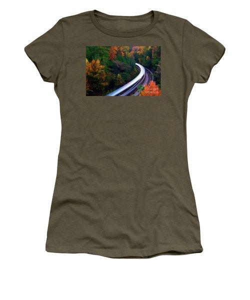 Autumn Rails Women's T-Shirt