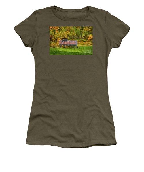 Autumn Rain 3 Women's T-Shirt
