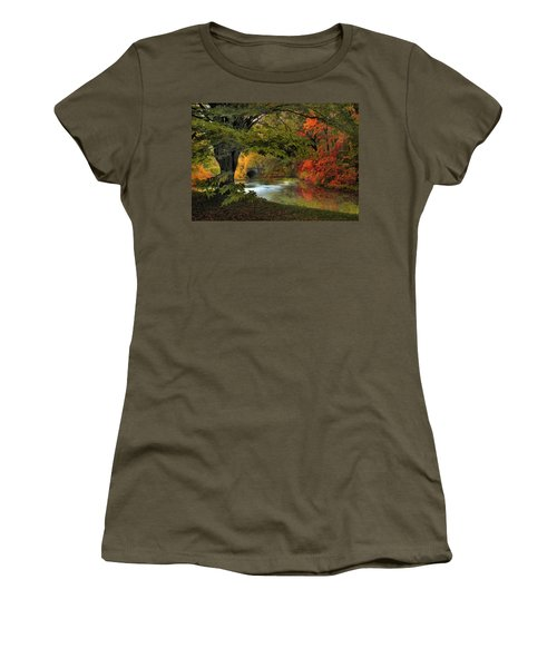 Women's T-Shirt featuring the photograph Autumn Reverie by Jessica Jenney