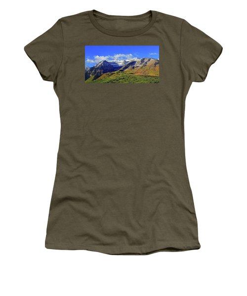 Autumn Snow On Timp Women's T-Shirt