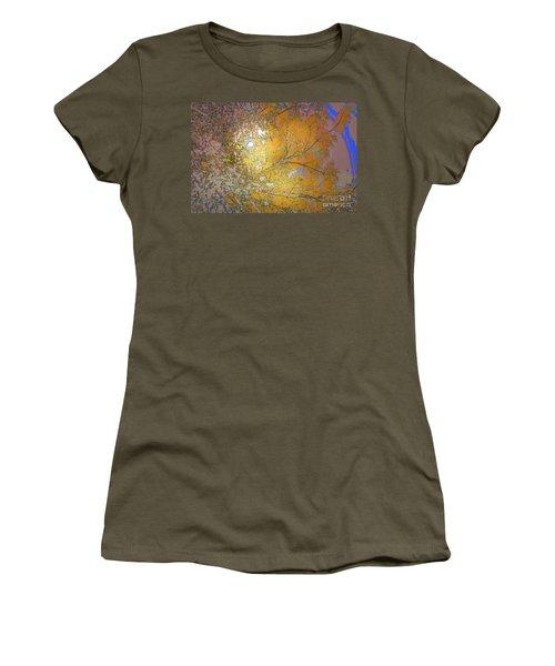 Autumn Sun Women's T-Shirt (Junior Cut) by Deborah Nakano