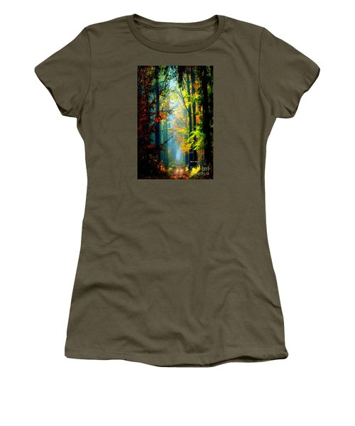 Autumn Trails In Georgia Women's T-Shirt