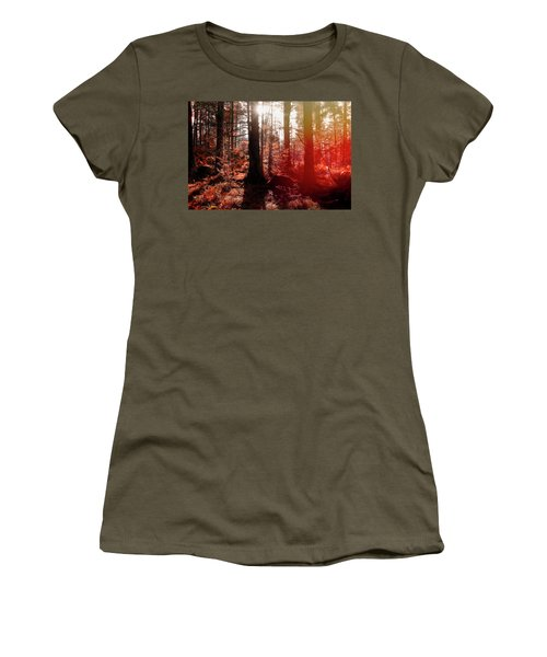 Autumnal Afternoon Women's T-Shirt (Athletic Fit)