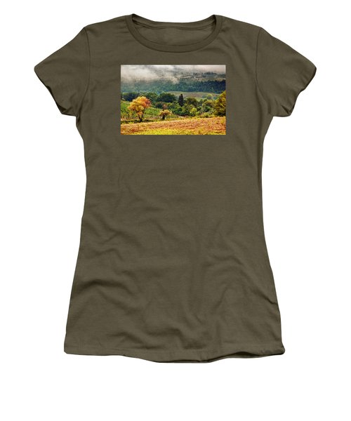 Autumnal Hills Women's T-Shirt (Junior Cut)