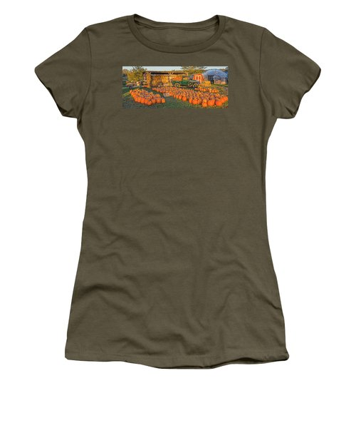 Autumnal Sunrise At Roe's Women's T-Shirt (Athletic Fit)