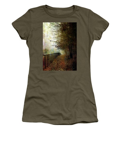 Autumns Path 7864 Idp_2 Women's T-Shirt (Athletic Fit)