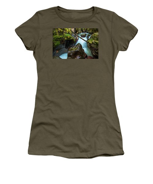 Avalanche Creek Women's T-Shirt (Athletic Fit)