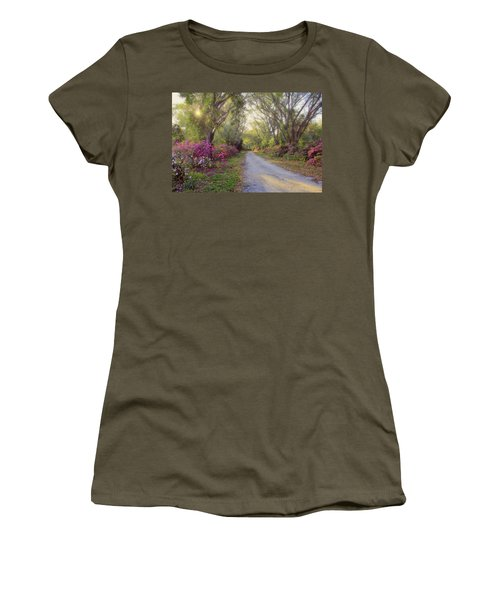Azalea Lane By H H Photography Of Florida Women's T-Shirt (Athletic Fit)