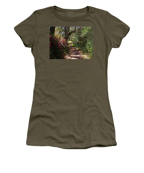 Azalea Path  Women's T-Shirt (Athletic Fit)