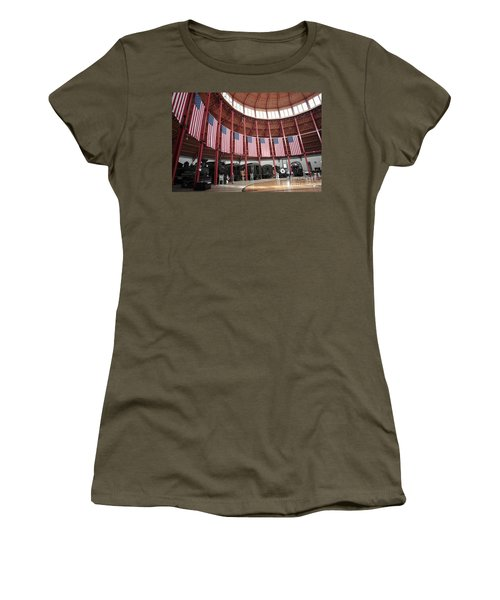 B And O Museum Roundhouse In Baltimore Maryland Women's T-Shirt