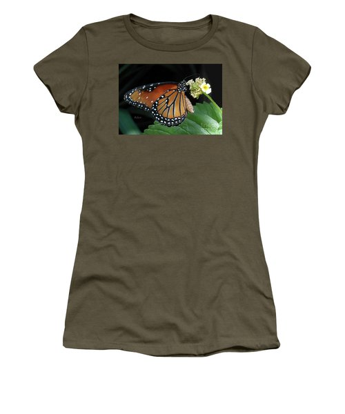 Baby Monarch Macro Women's T-Shirt (Athletic Fit)