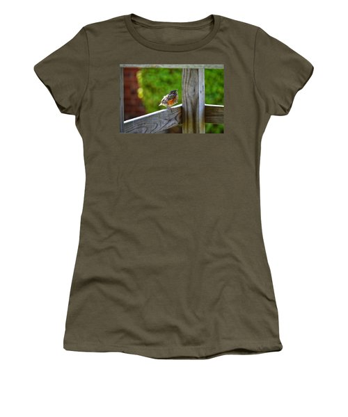 Baby Robin  Women's T-Shirt