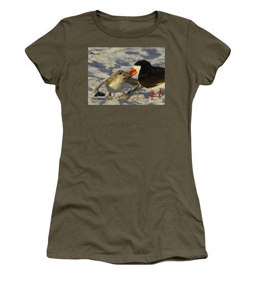 Baby Skimmer Feeding Women's T-Shirt