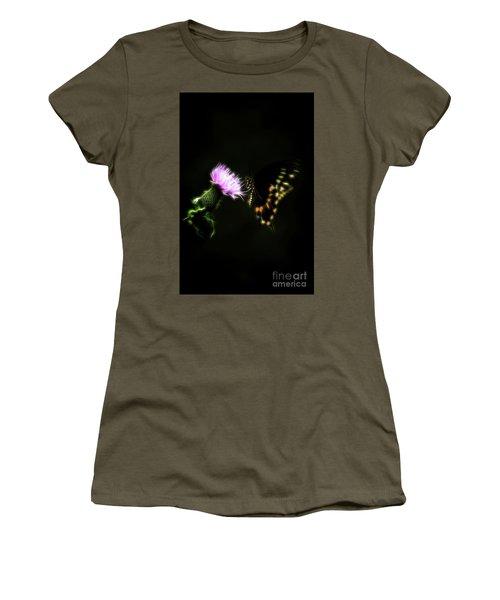Backroad Butterfly Women's T-Shirt