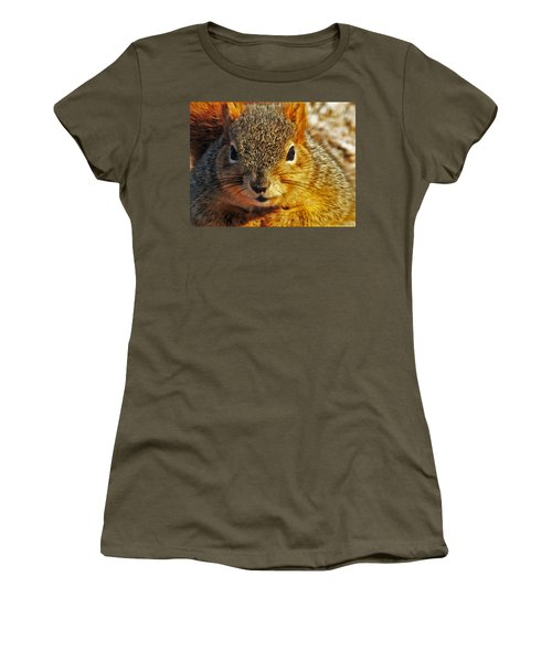 Backyard Squirrel Women's T-Shirt