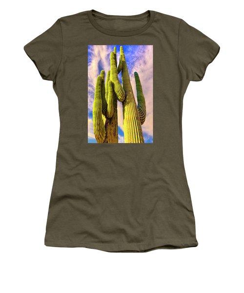 Women's T-Shirt (Junior Cut) featuring the photograph Bad Hombre by Paul Wear