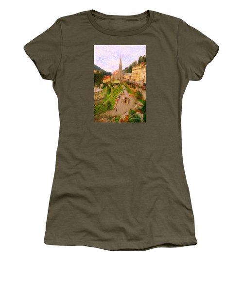 Badhofgastein Women's T-Shirt (Junior Cut) by Gerhardt Isringhaus