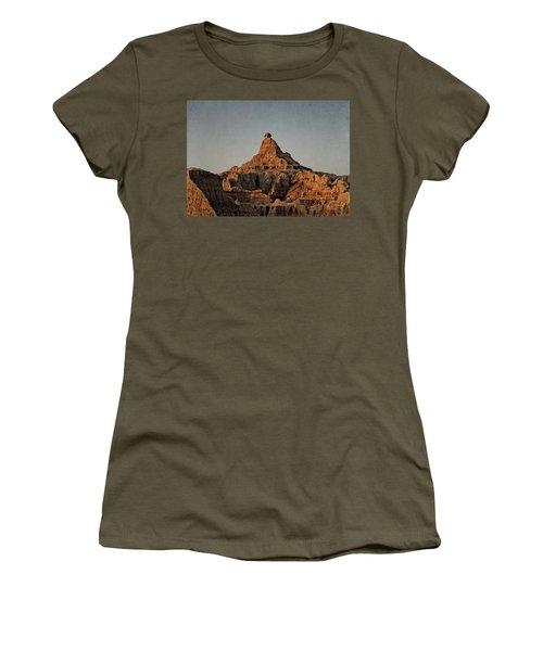 Badlands At Sunrise Women's T-Shirt